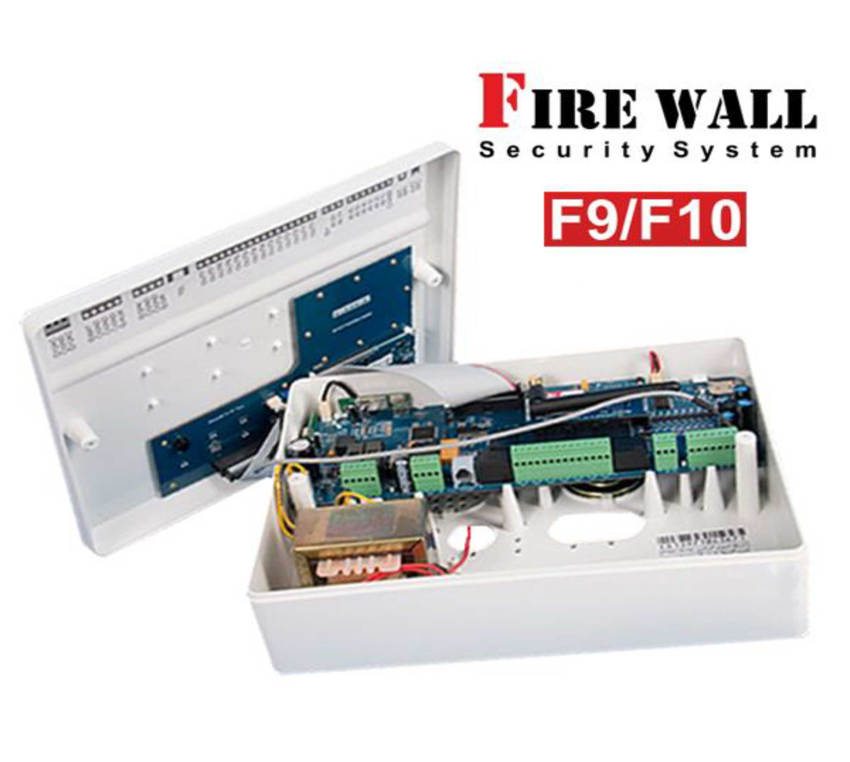 آموزش دزدگیر اماکن فایروال F9 و F10