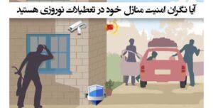آیا نگران امنیت منازل خود هستید